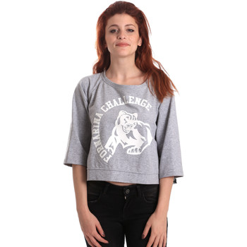 Vêtements Femme Sweats Fornarina BE176841F42706 Gris