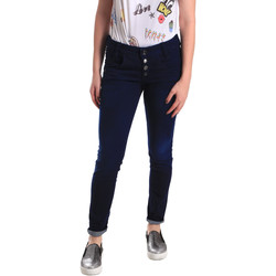 Vêtements Femme Jeans skinny Fornarina BER1I02D784R50 Bleu
