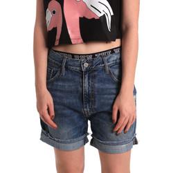Vêtements Femme Shorts / Bermudas Fornarina BER1I32D785IM Bleu