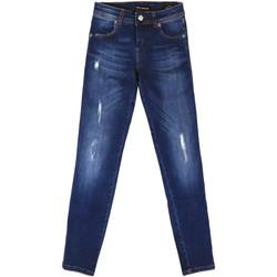 Vêtements Femme Jeans boyfriend Fornarina BER1I89D844UA Bleu