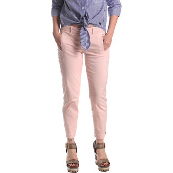 Vêtements Femme Chinos / Carrots Fornarina SE171L74G291C5 Rose