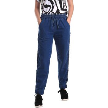 Vêtements Femme Jeans droit Fornarina SE171L93D883SK Bleu