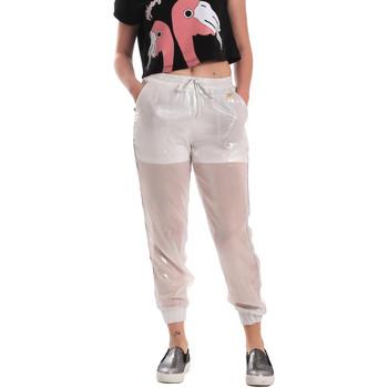 Vêtements Femme Pantalons de survêtement Fornarina SE171L95CA0509 Blanc