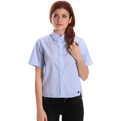 Vêtements Femme Chemises / Chemisiers Fornarina SE174567CA1218 Bleu