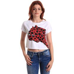 Vêtements Femme T-shirts manches courtes Fornarina SE175L32JG0709 Rouge