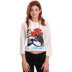 Vêtements Femme Sweats Fornarina SE176842F42709 Blanc
