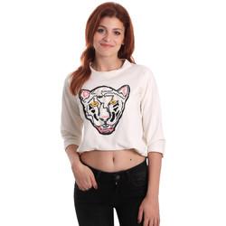 Vêtements Femme Sweats Fornarina SE176844F42709 Blanc