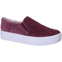 Chaussures Femme Slip ons Fornarina PE17EY1118G062 Rouge