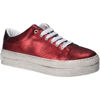 Chaussures Femme Baskets basses Fornarina PE17MX1108R076 Rouge