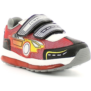 Chaussures Garçon Baskets basses Lumberjack SB02405 007 M67 Rouge