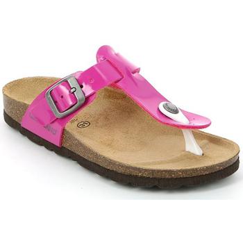 Chaussures Enfant Tongs Grunland CB0928 Rose