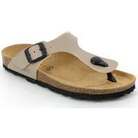 Chaussures Enfant Tongs Grunland CB0926 Beige