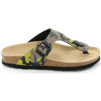 Chaussures Enfant Tongs Grunland CB0406 Vert