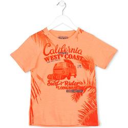 Vêtements Enfant T-shirts manches courtes Losan 713 1022AA Orange
