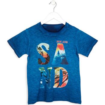 Vêtements Garçon T-shirts manches courtes Losan 713 1023AA Bleu
