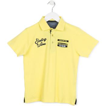 Vêtements Enfant Polos manches courtes Losan 713 1032AA Jaune