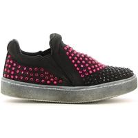 Chaussures Fille Slip ons Lulu LS150024T Noir