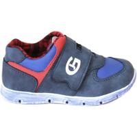 Chaussures Garçon Baskets basses Grunland PP0157 Bleu