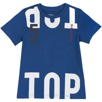 Vêtements Enfant T-shirts manches courtes Chicco 09006586000000 Bleu