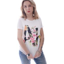 Vêtements Femme T-shirts manches courtes Fracomina FR20SP368 Blanc