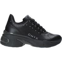 Chaussures Femme Baskets basses Onyx W19-SOX513 Noir