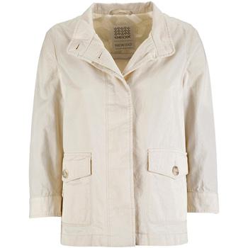 Vêtements Femme Parkas Geox W7223C T2343 Blanc