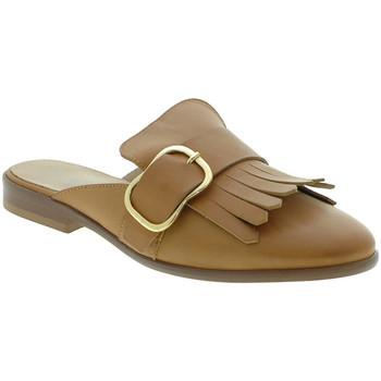 Chaussures Femme Sabots Mally 6116 Marron