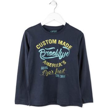 Vêtements Garçon T-shirts manches longues Losan 713 1202AA Bleu
