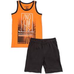 Vêtements Garçon Ensembles enfant Losan 713 8044AA Orange