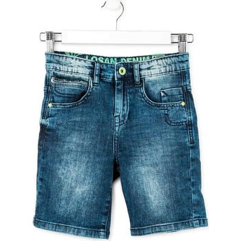 Vêtements Garçon Shorts / Bermudas Losan 713 9006AA Bleu