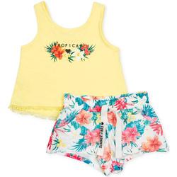 Vêtements Fille Ensembles enfant Losan 714 8016AB Jaune