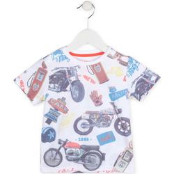Vêtements Garçon T-shirts manches courtes Losan 715 1017AC Blanc