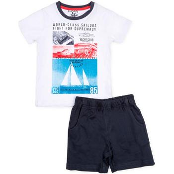 Vêtements Garçon Ensembles enfant Losan 715 8042AC Blanc
