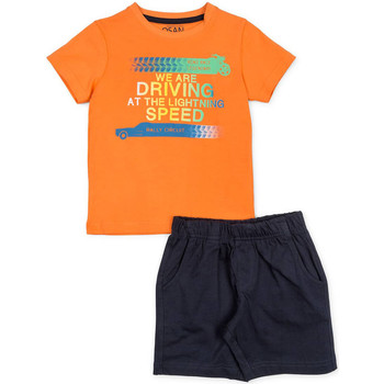 Vêtements Garçon Ensembles enfant Losan 715 8047AC Orange