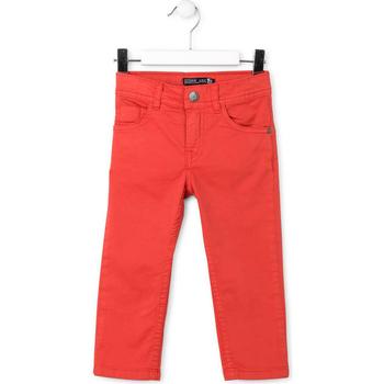Vêtements Enfant Pantalons 5 poches Losan 715 9650AC Rouge