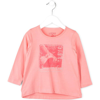 Vêtements Enfant Pulls Losan 716 1214AD Rose