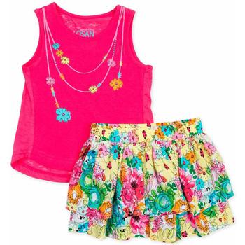 Vêtements Fille Ensembles enfant Losan 716 8001AD Rose