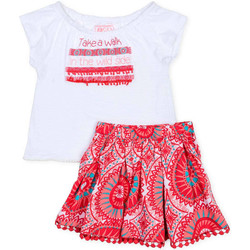 Vêtements Fille Ensembles enfant Losan 716 8010AD Blanc