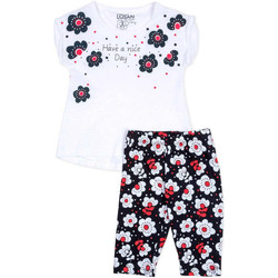 Vêtements Fille Ensembles enfant Losan 716 8012AD Blanc
