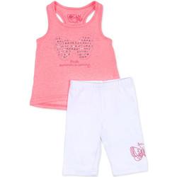 Vêtements Fille Ensembles enfant Losan 716 8015AD Rose