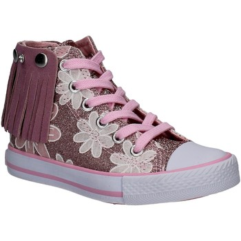 Chaussures Fille Baskets montantes Lulu LV010072S Rose