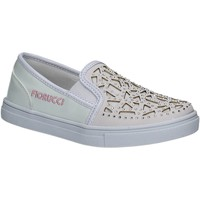 Chaussures Fille Baskets basses Fiorucci FKEO044 Blanc
