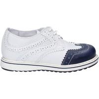 Chaussures Enfant Derbies Melania ME2077D7E.A Blanc