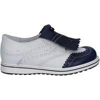 Chaussures Enfant Derbies Melania ME6077F7E.C Blanc