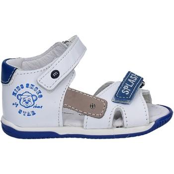 Chaussures Enfant Sandales et Nu-pieds Melania ME0813A7E.B Blanc