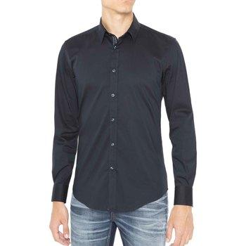 Vêtements Homme Chemises manches longues Antony Morato MMSL00415 FA450001 Bleu