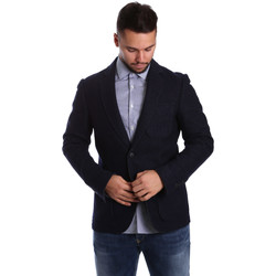Vêtements Homme Vestes / Blazers Antony Morato MMJA00322 FA500034 Bleu