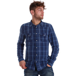 Vêtements Homme Chemises manches longues Gaudi 721BU46005 Bleu
