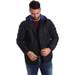 Vêtements Homme Doudounes Ea7 Emporio Armani 6YPB34 PN02Z Bleu
