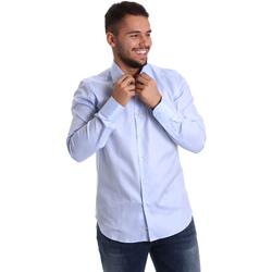Vêtements Homme Chemises manches longues Gmf 972903/02 Bleu